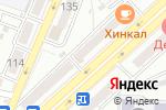 Схема проезда до компании Баргузин Авто в Астрахани