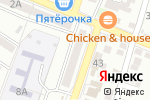 Схема проезда до компании Изобилие Вкуса в Астрахани