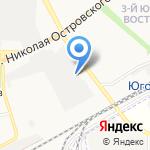 Восток-К на карте Астрахани