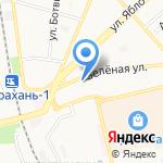 У Надежды на карте Астрахани