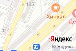 Схема проезда до компании Тамико в Астрахани