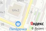 Схема проезда до компании МОЛОТ в Астрахани
