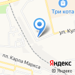 Комильфо на карте Астрахани
