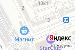 Схема проезда до компании Комильфо в Астрахани