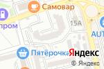 Схема проезда до компании Колосок в Астрахани