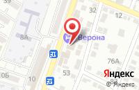 Схема проезда до компании Московская ярмарка в Астрахани