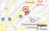 Схема проезда до компании Починкин в Астрахани