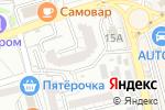 Схема проезда до компании Твой стиль в Астрахани