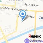 Детский сад №79 на карте Астрахани