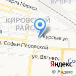 Нотариус Гончарова Н.В. на карте Астрахани