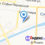 Детский сад №80 на карте Астрахани