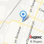 Дизайн-студия на карте Астрахани