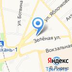 Астраханский государственный политехнический колледж на карте Астрахани