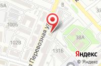 Схема проезда до компании АстраханьАрхПроект в Астрахани