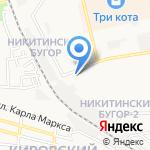 Царское село на карте Астрахани