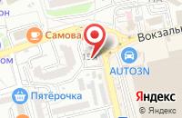 Схема проезда до компании Магазин спецодежды и хозяйственных товаров в Астрахани