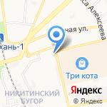 Wedding Day на карте Астрахани