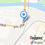 ЮТЕКО на карте Астрахани