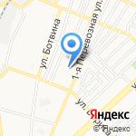 Средняя общеобразовательная школа №36 на карте Астрахани