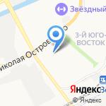 Мастерица на карте Астрахани