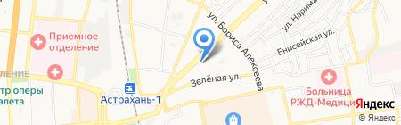 Авто+ на карте Астрахани