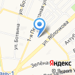 Снабсервис на карте Астрахани