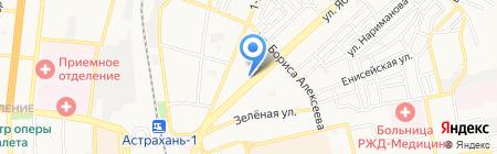Финанс Гарант на карте Астрахани
