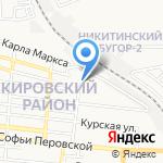 Гениальный малыш на карте Астрахани
