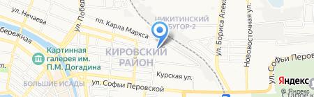 Мастер Гриль на карте Астрахани