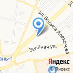 Кобзева В.А. на карте Астрахани