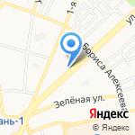 Milton Street на карте Астрахани