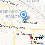 Библиотека №10 на карте Астрахани