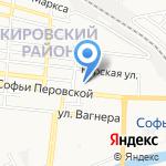 Зоомагнит на карте Астрахани