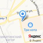 DoL-сервис на карте Астрахани