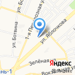 Астраханский кооперативный техникум экономики и права на карте Астрахани