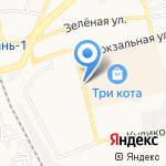 Букварь на карте Астрахани