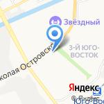 Банк настоящего пива на карте Астрахани