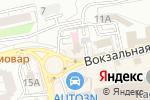Схема проезда до компании Авто Корея в Астрахани