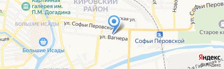 Евро-Азиатский Торгово-Промышленный банк на карте Астрахани