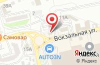 Схема проезда до компании Family в Астрахани