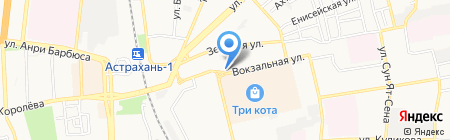 iAstra на карте Астрахани