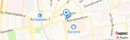 Security Doors на карте Астрахани