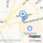 Авто Корея на карте Астрахани