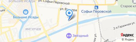 Аварийная служба на карте Астрахани