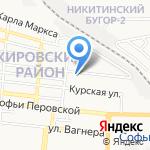 Инь und Ян на карте Астрахани