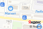 Схема проезда до компании Мой салон в Астрахани