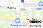 Схема проезда до компании Киоск по продаже хлеба в Астрахани