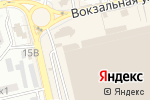 Схема проезда до компании Стрекоза в Астрахани