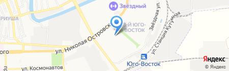 Детский сад №132 Кузнечик на карте Астрахани