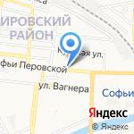 МЕГАОПТИКА на карте Астрахани